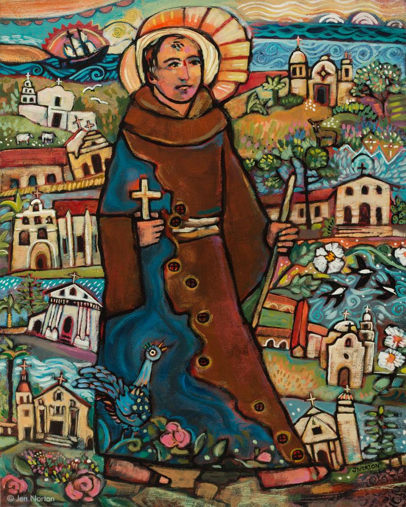 JN967 Blessed Junipero Serra