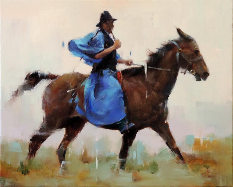 Hungarian Rider © Vincent Liu