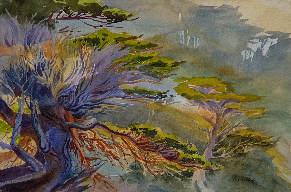 Point Lobos Vision by Veronica Gross