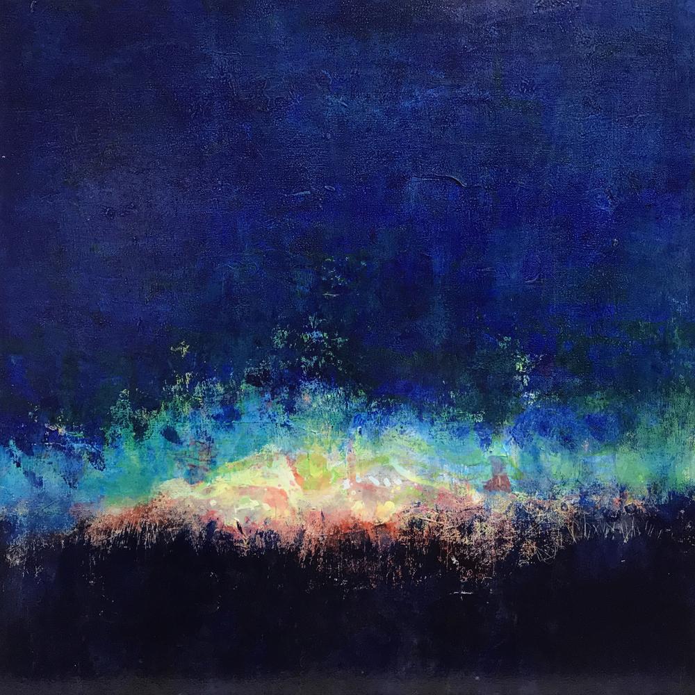 James Ong_Alchemy 1_2019_Acrylic on Canvas_24x24x1.5