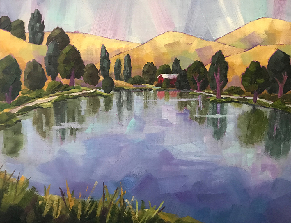 Muldoon_Twilight on a Lake